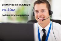 Бесплатные консультации по банкротству граждан онлайн (не выходя из дома)
